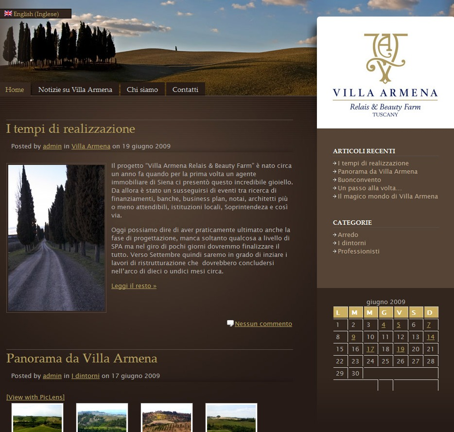 Contract furniture villa armena for Vergani home arredamento