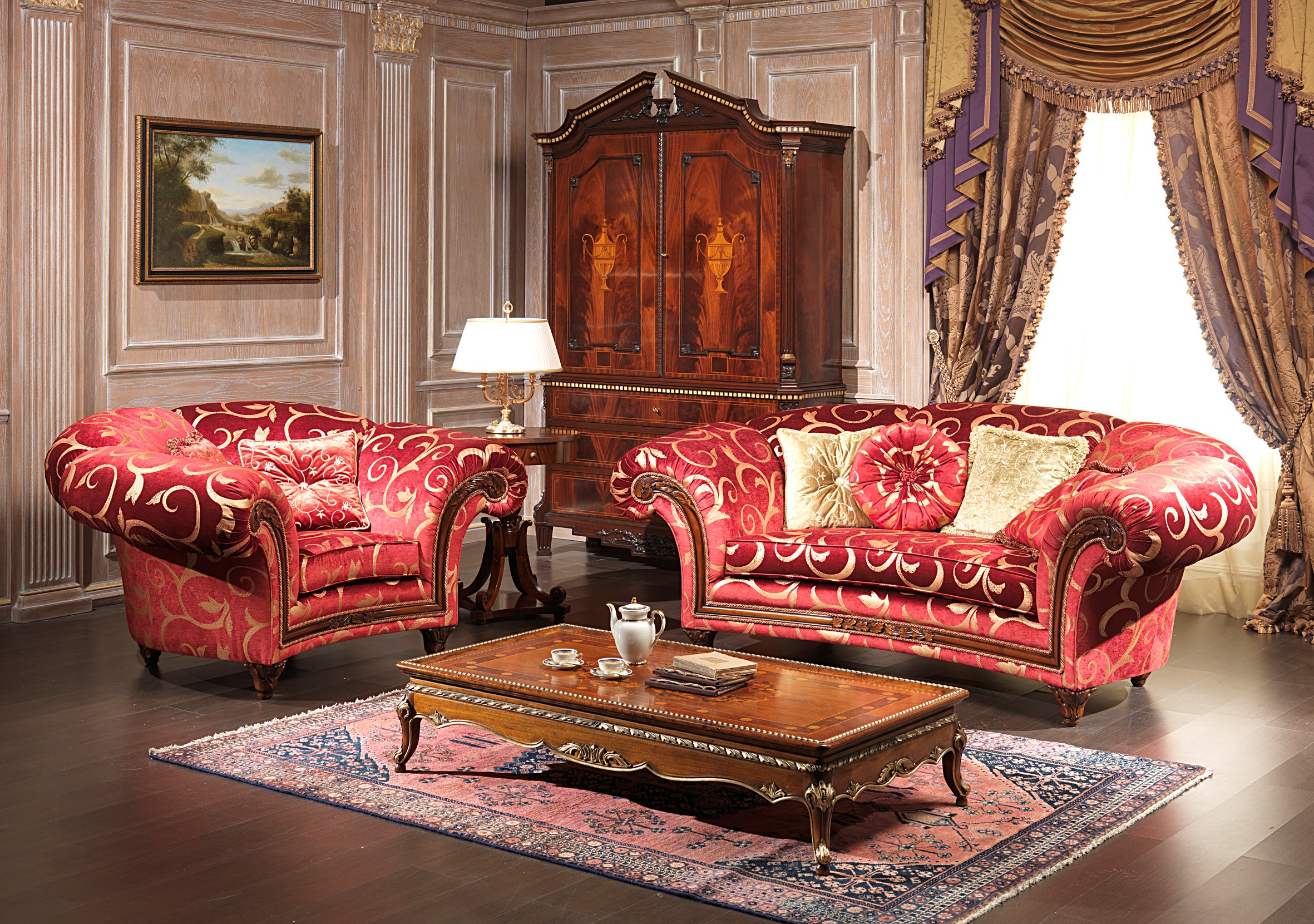 Collection Classic Sofas And Armchairs
