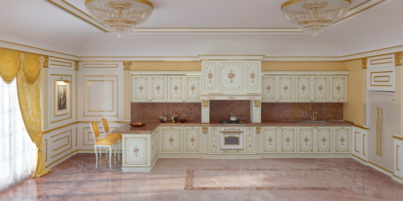 Cucine classiche di lusso Vimercati