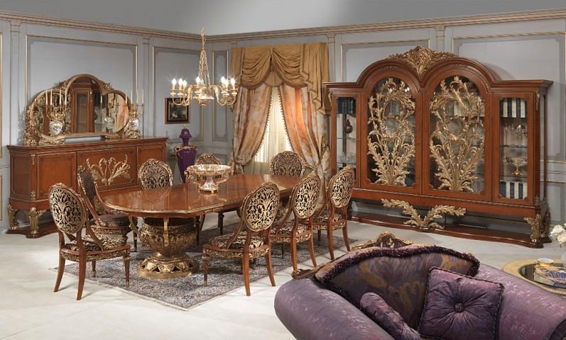 Classic dining room Versailles Luigi XVI style