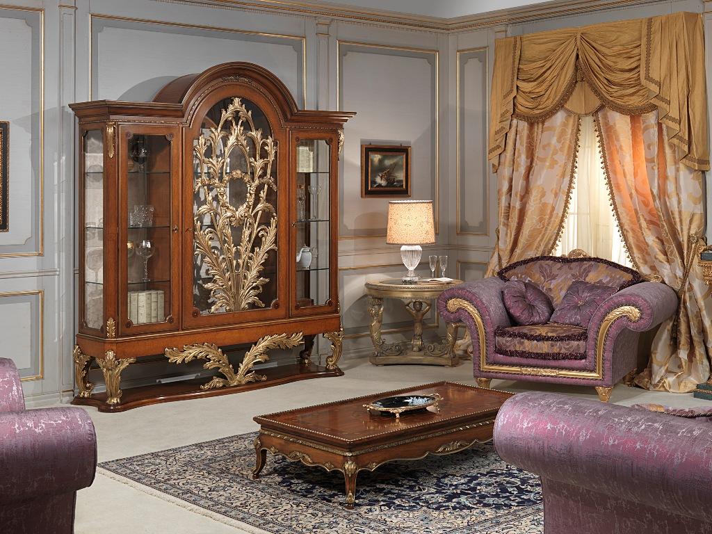 Classic dining room versailles luigi xvi style for Vimercati meda