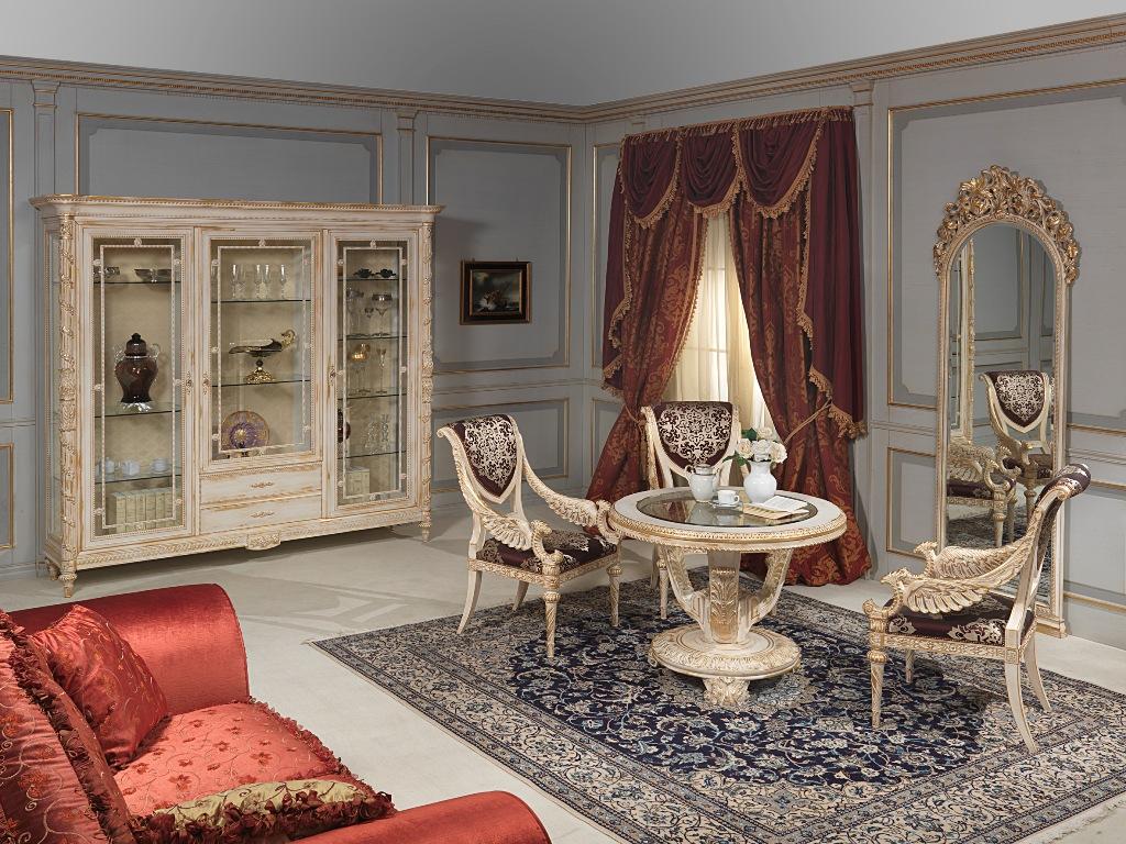 Collezione white and gold mobili classici in stile luigi xvi for Arredamento stile luigi xvi