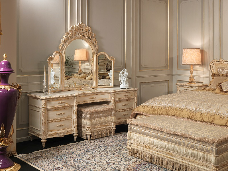 luxury bedrooms white and gold louis xvi style furniture