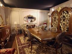 Arredo classico di lusso: sala da pranzo Versailles stile Luigi XVI