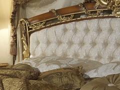 Letto luigi XVI noce e intarsi