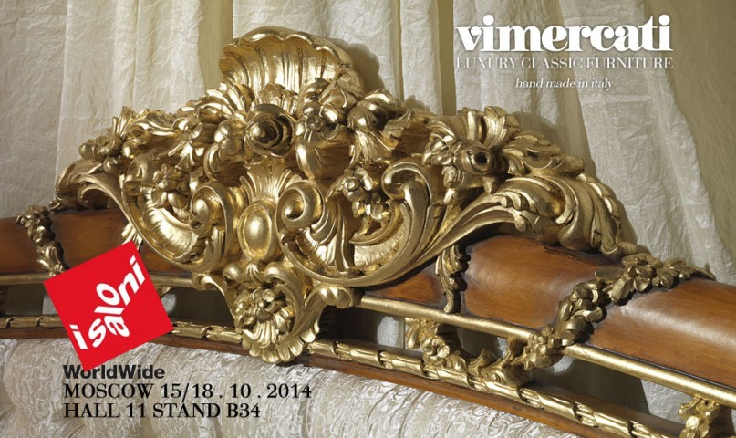 Bon Luxury Classic Furniture By Vimercati Protagonist At I Saloni WorldWide  Moscow 2014