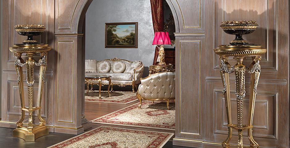 Lampade in stile per arredi classici di lusso - Arredi di lusso casa ...
