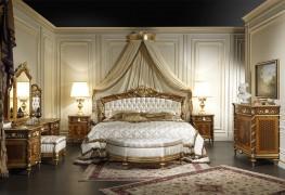 Классическая комната из ореха Людовик XVI