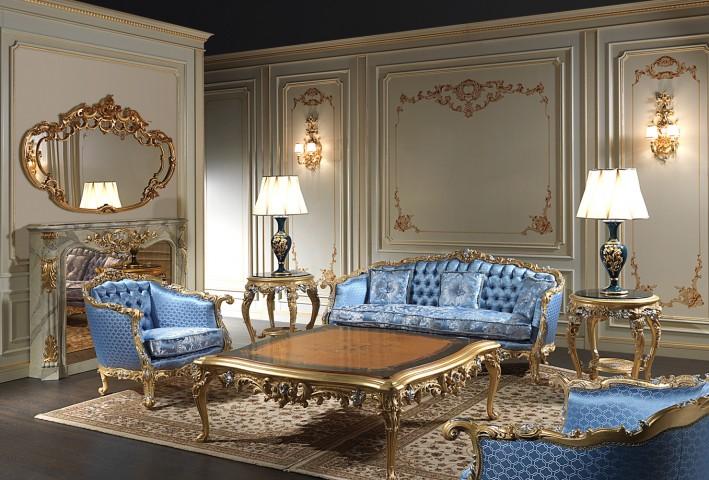 salotto 700 mobili ispirati alle sale delle regge del 700. Black Bedroom Furniture Sets. Home Design Ideas