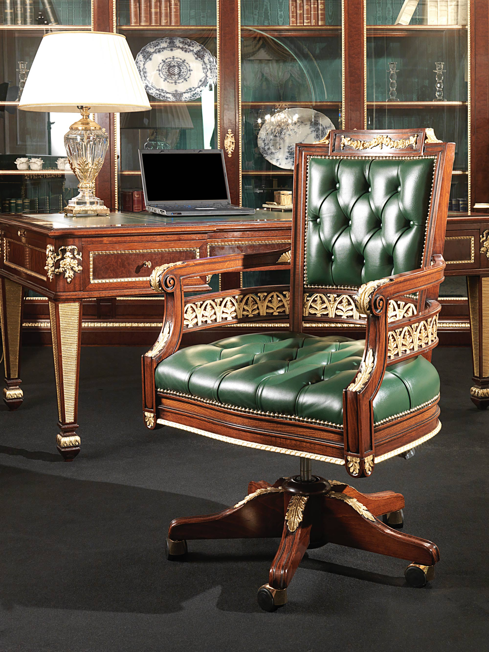 Gothic Office Furniture. Luxury Classic Office Furniture: The Elegance Of  Strictness Gothic Furniture