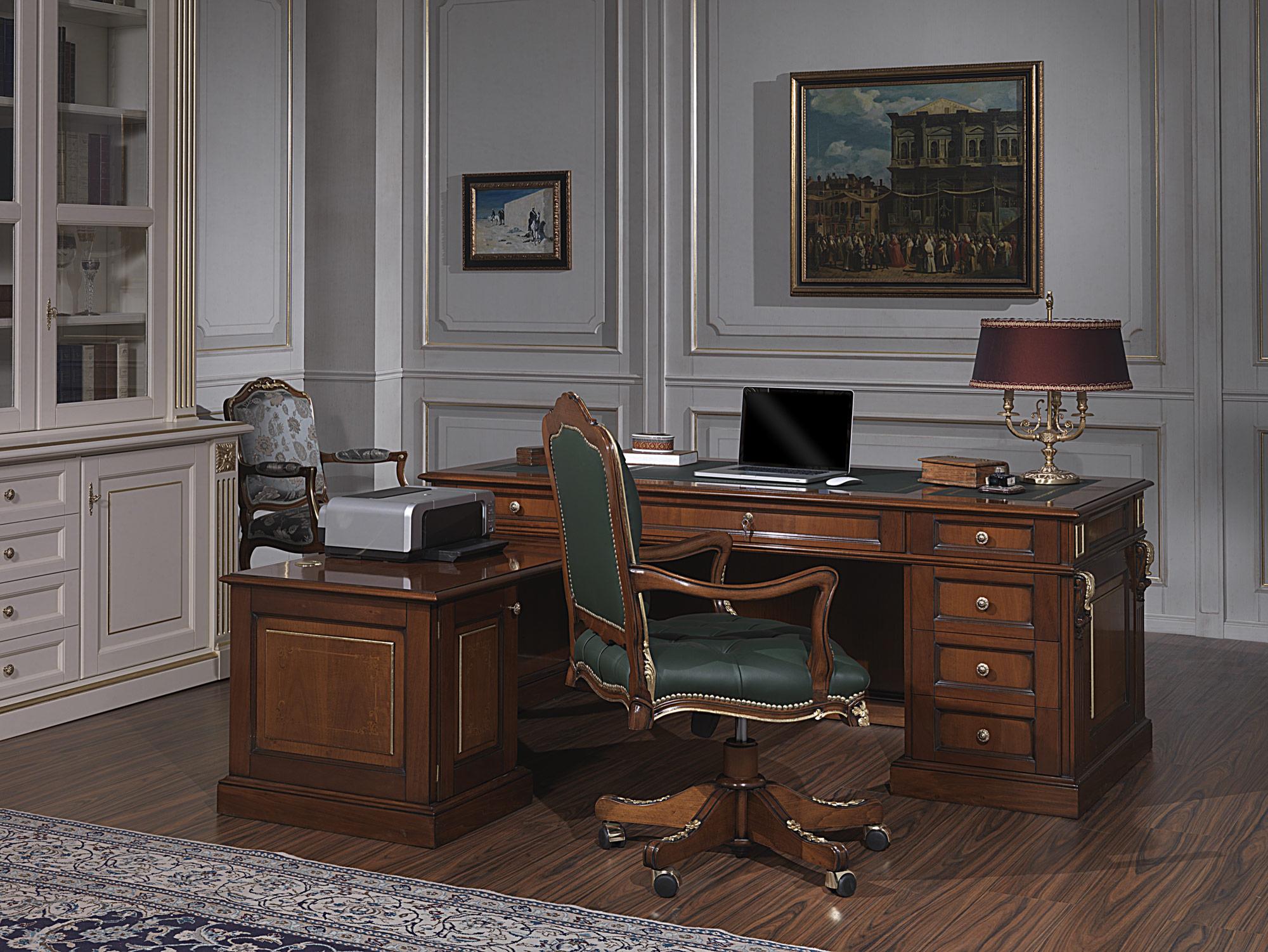 Mobili per ufficio di lusso classico: l'eleganza del rigore