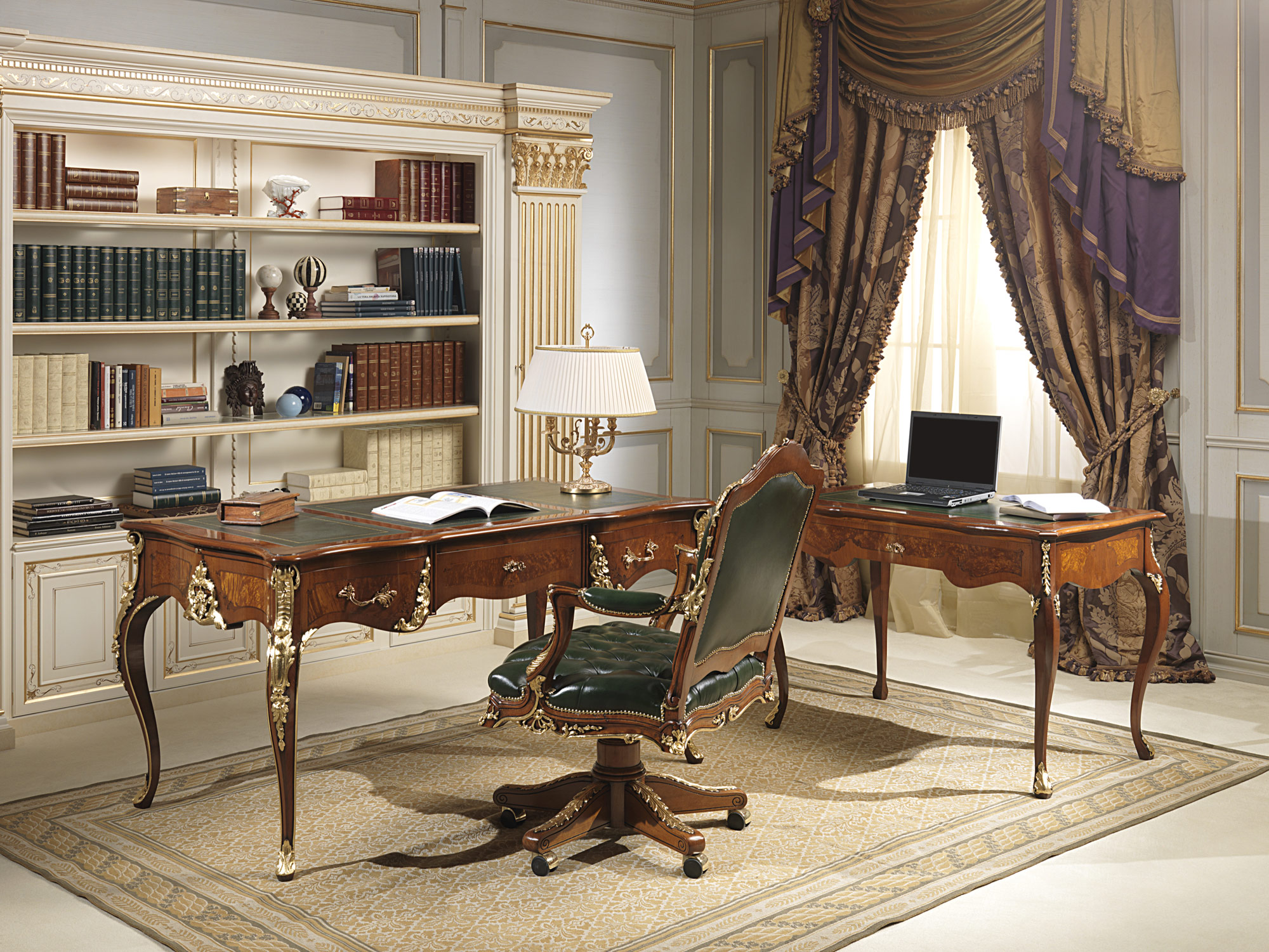 Luxury office furniture in classic style for Classic design furniture