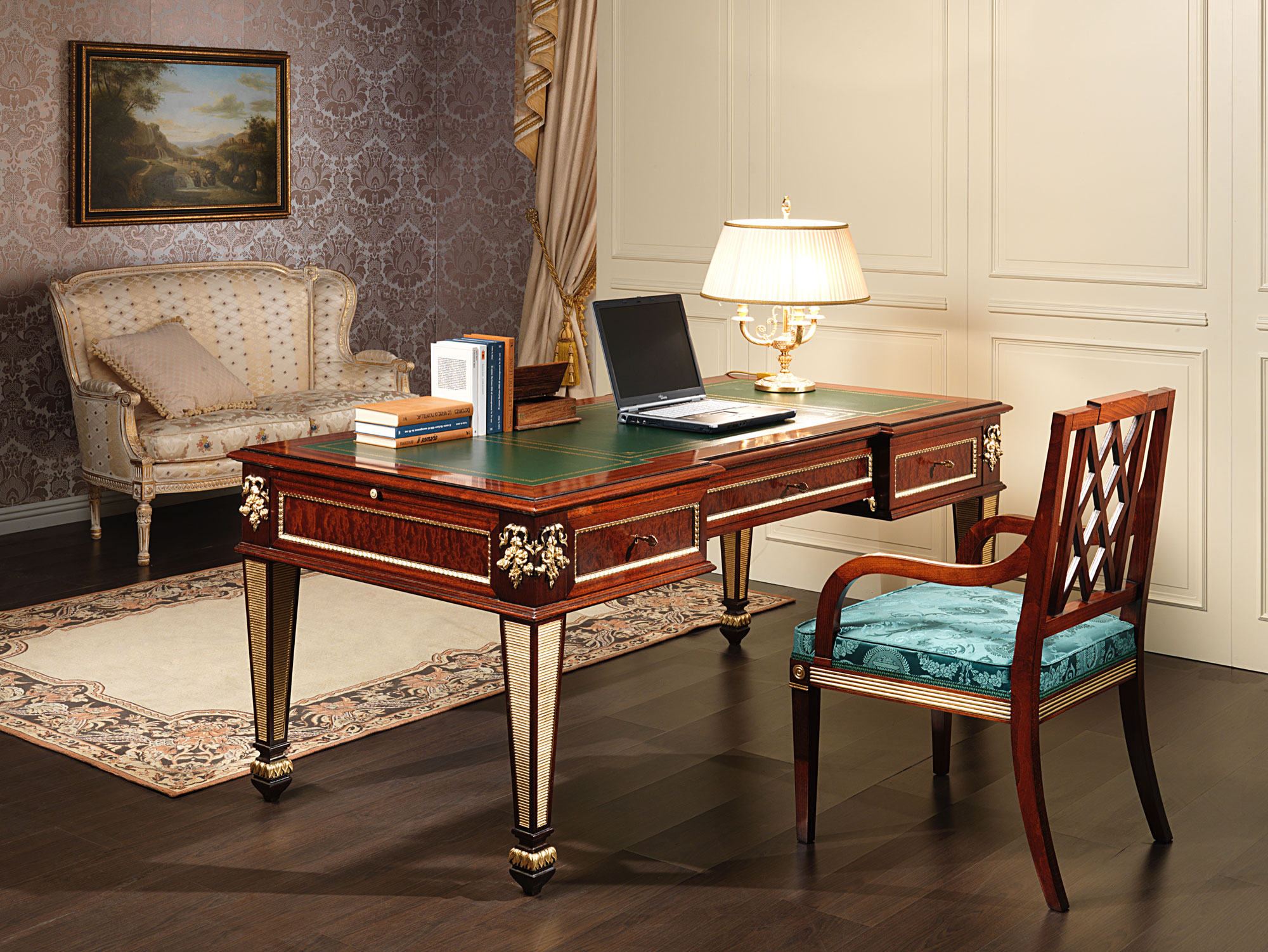 Luxury office furniture in classic style for Classic furniture