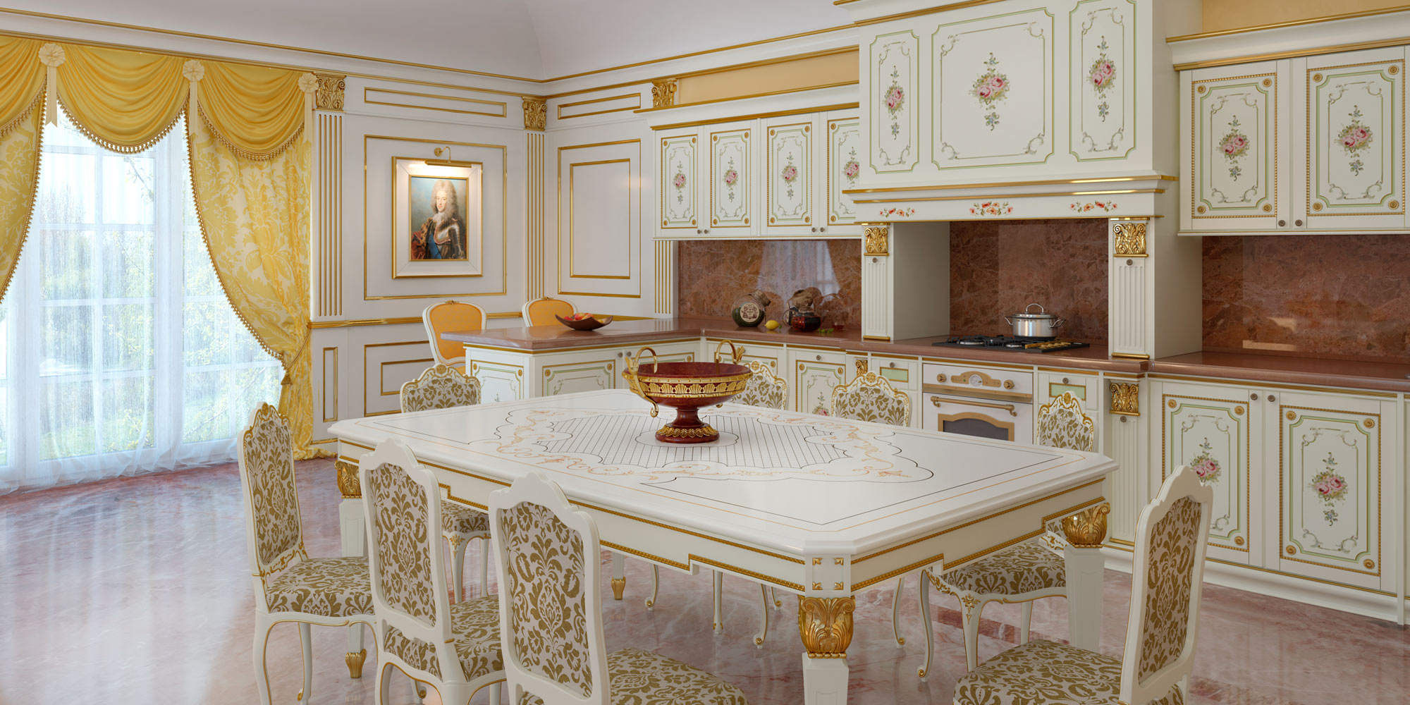 Cucine classiche su misura: il lusso entra in cucina