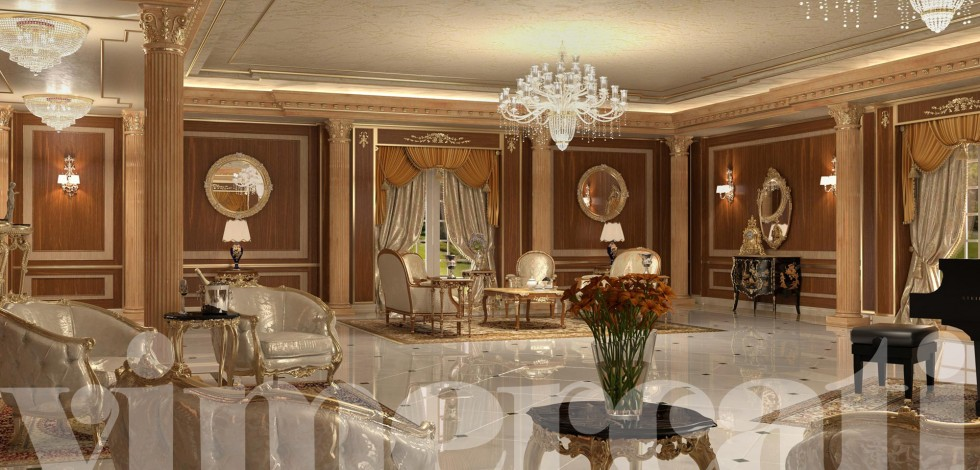 Arredamento ville di lusso l esclusivit di arredi classici for Arredamento interni lusso