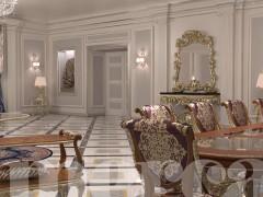 Arredamento ville di lusso: la sala da pranzo