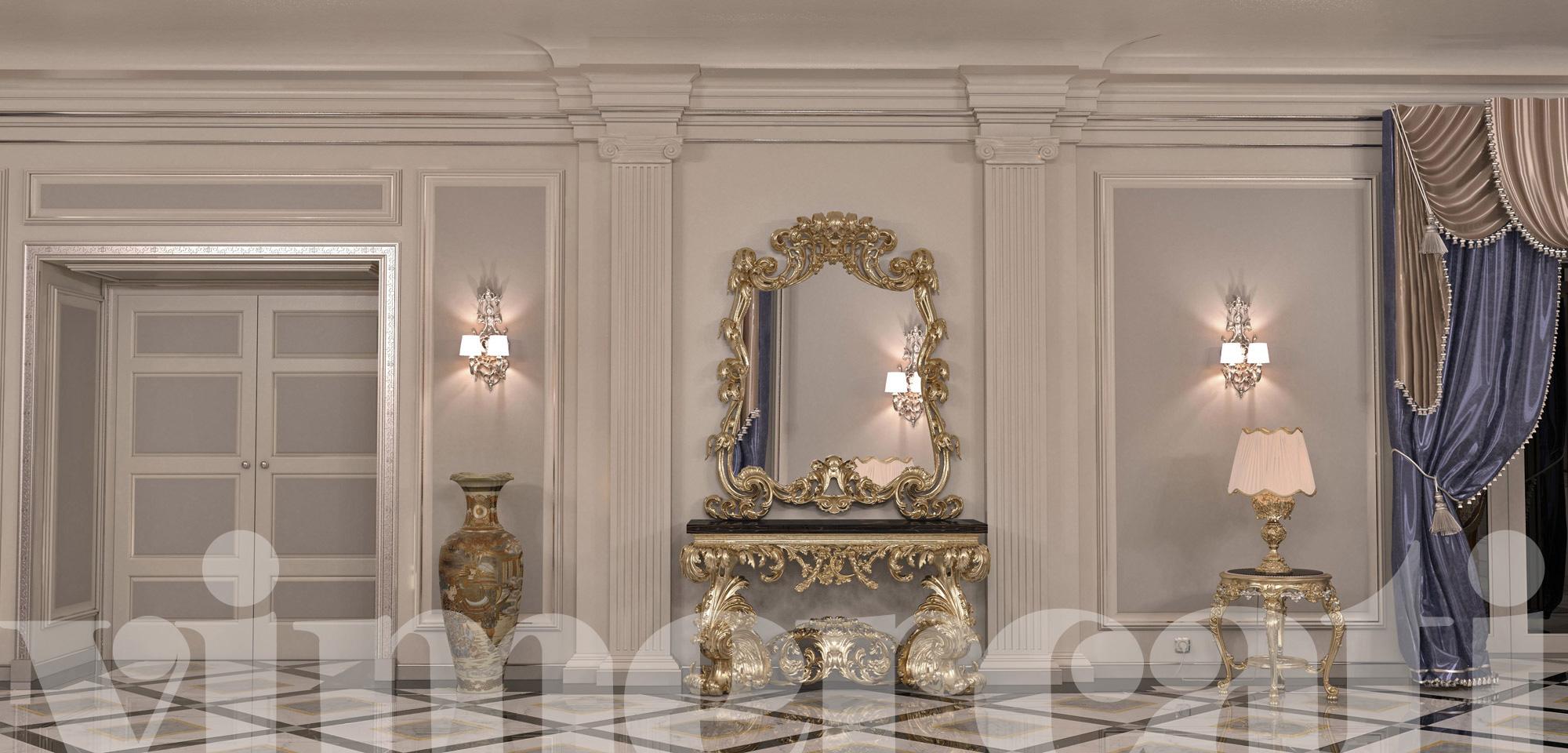 Tende per interni casa moderna for Arredamento interni lusso