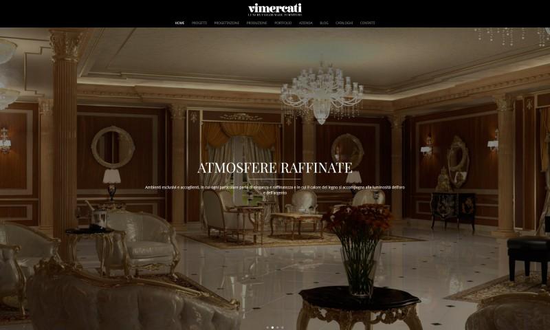 Progettazione arredi contract classici di lusso: Villa Montecarlo