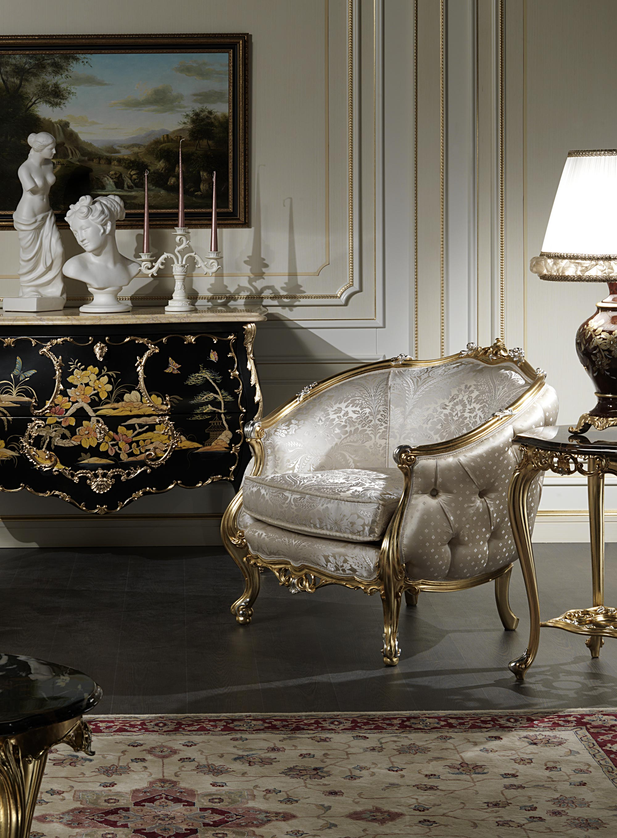 Classic Luxury Living Rooms Exclusive Collections Made In Italy