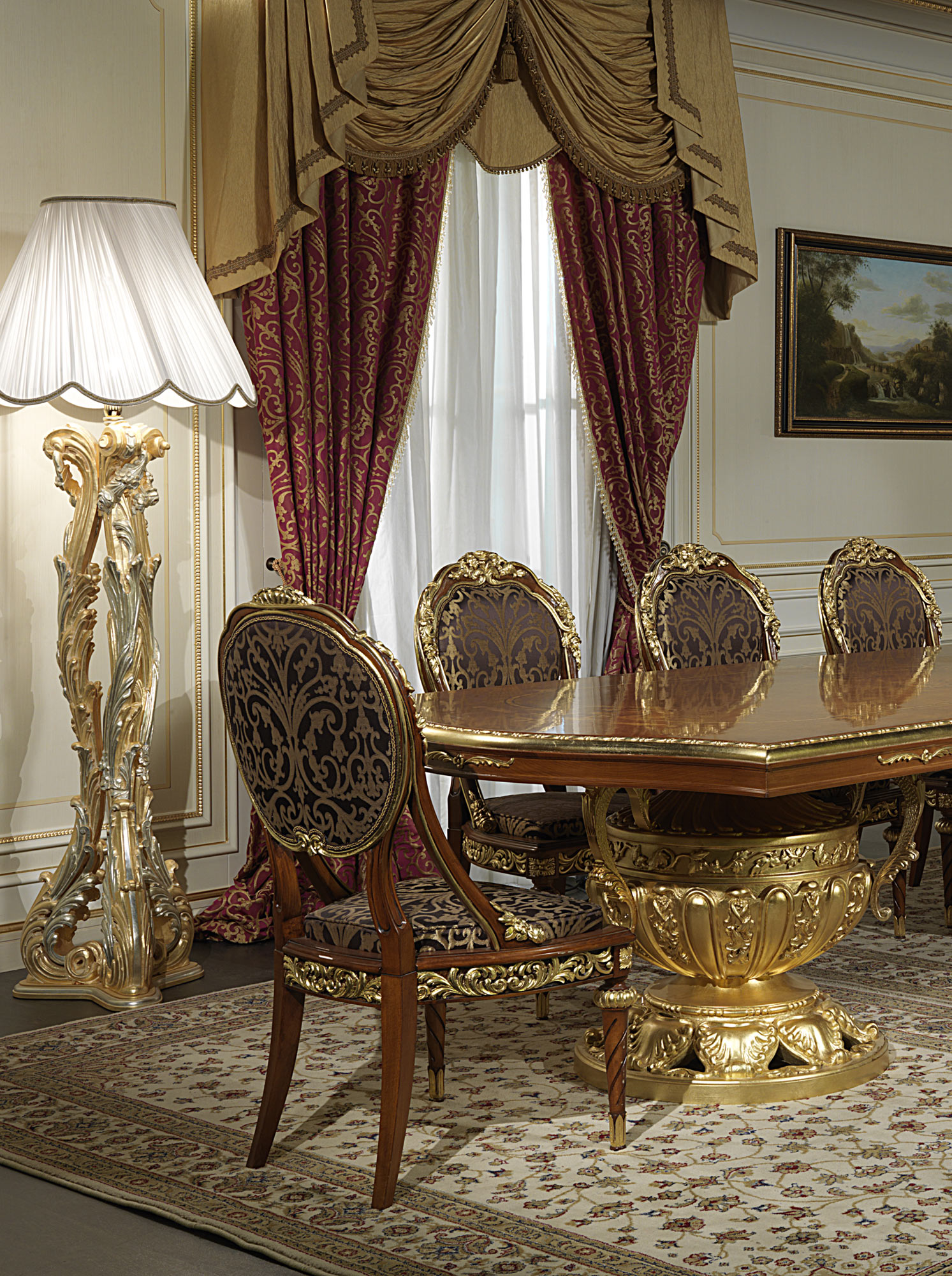 Furniture classic living room versailles the luxury of for Chambre louis xvi versailles