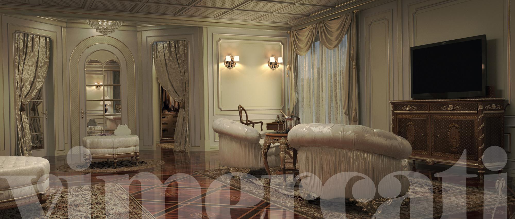 Arredamento classico ville mobili regali per una camera - Arredamento classico ...