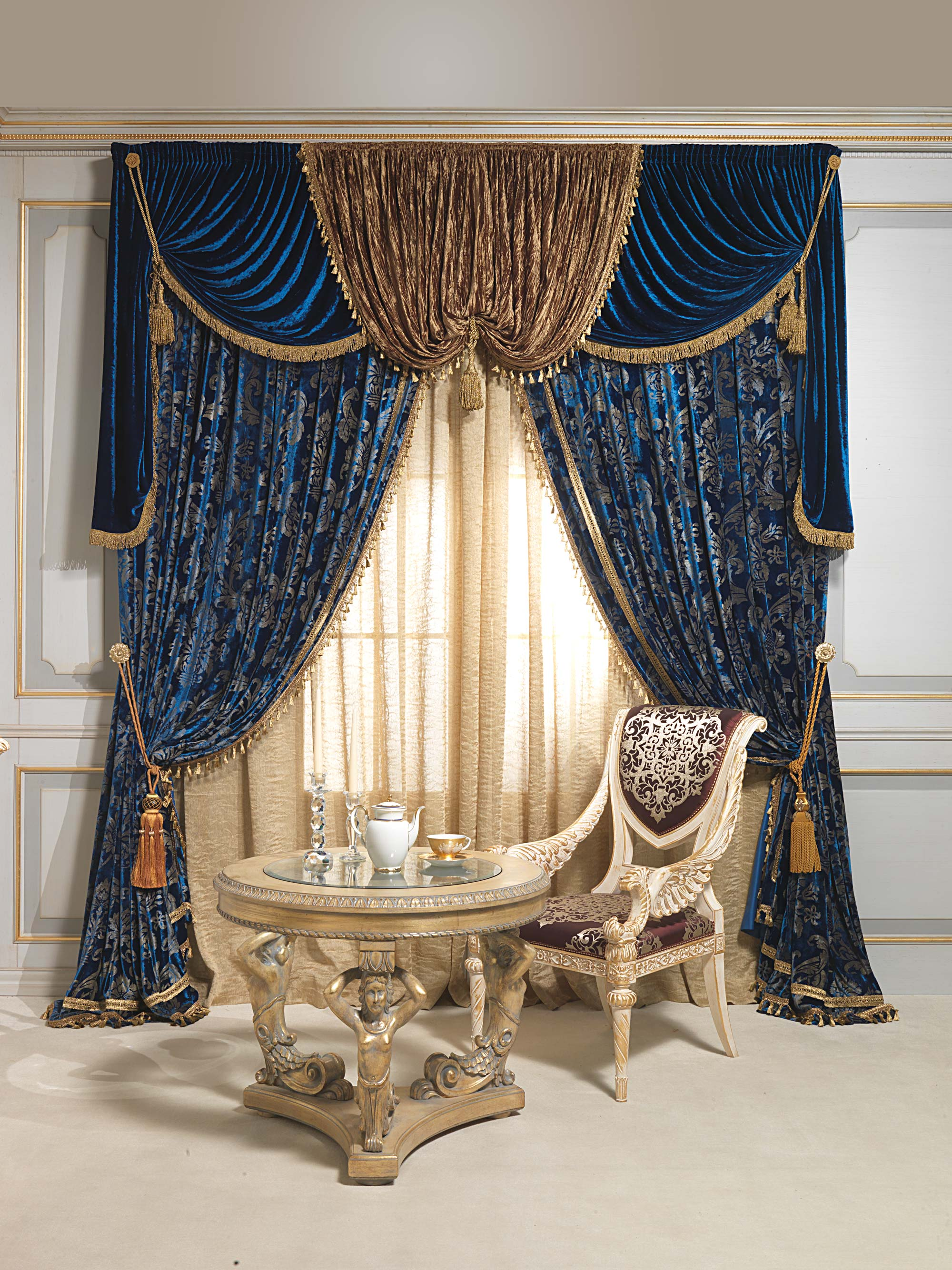 Drapery And Curtain Ideas: Luxurious Curtains For Exclusive Interiors