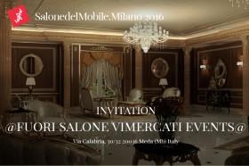 Salone del Mobile 2016, showroom Vimercati