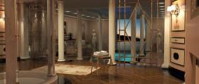 Mobili bagno su misura: la piscina
