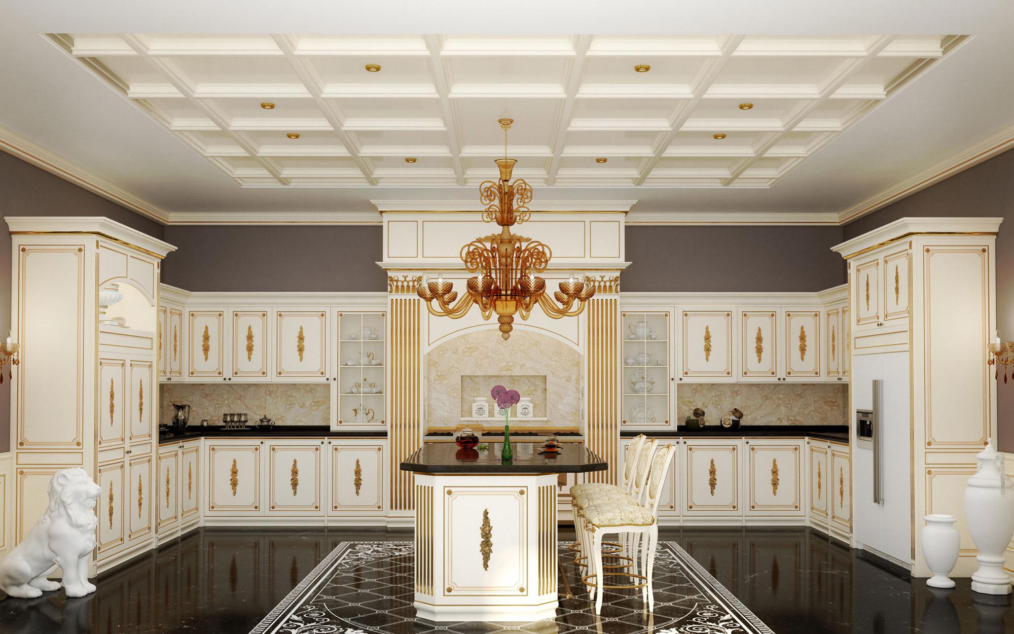 Arredamenti classici su misura il lusso per ogni ambiente for Vergani arredamenti