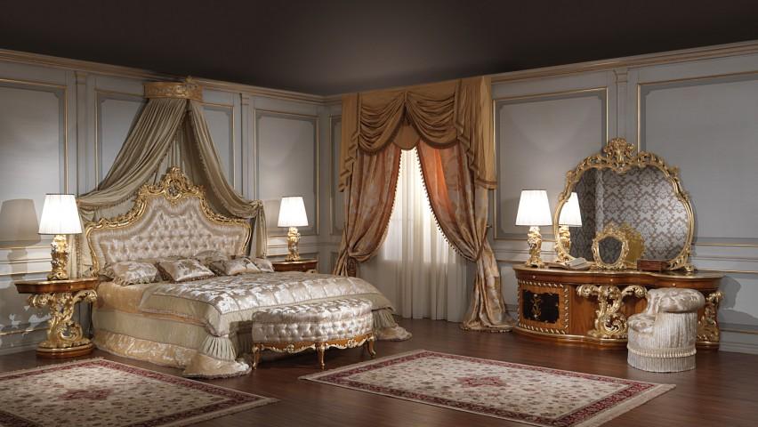 Arredamenti classici su misura, la camera da letto