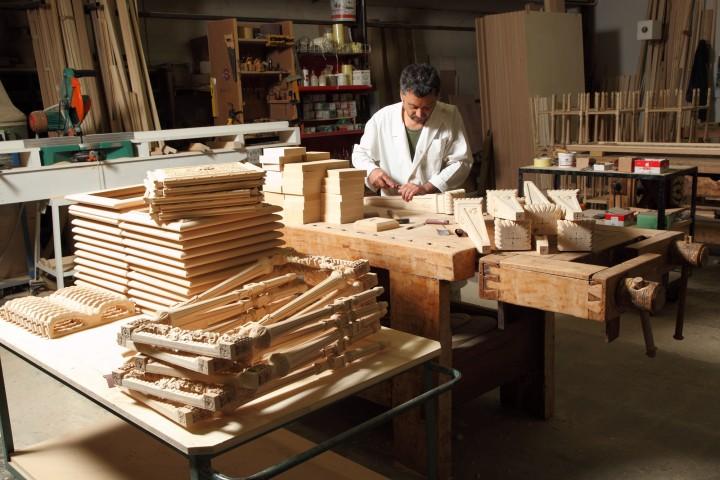 Mobili artigianali in legno - Mobili classici cantu ...