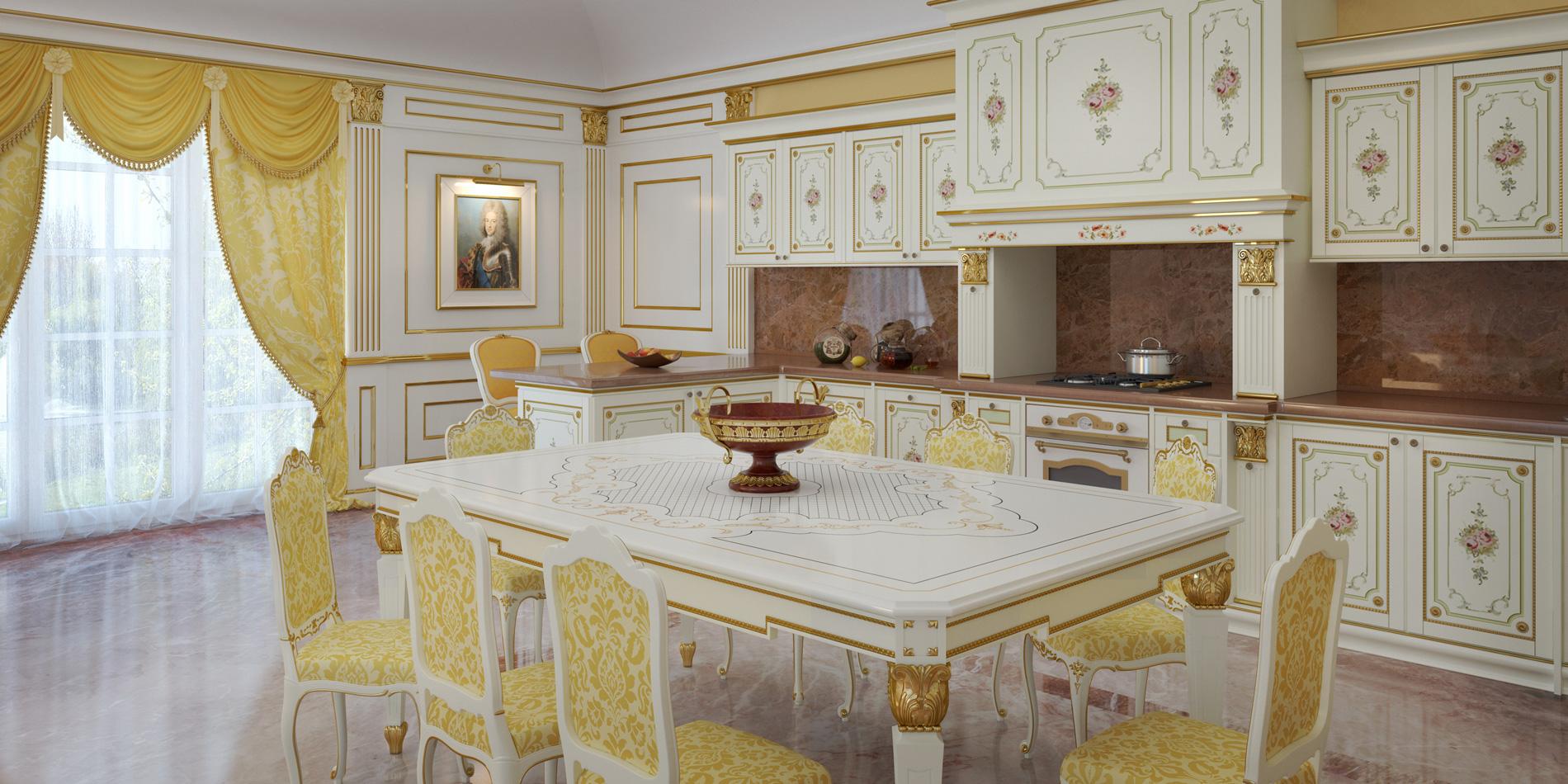 Cucine di lusso lo stile classico protagonista ai fornelli - Cucine di lusso italiane ...