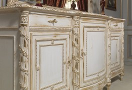 Classical sideboards: the luxury of carvings