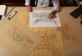 Progettazione di un arredamento di lusso: l'idea