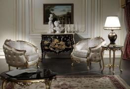 Mobili salotto classico con chinoiserie