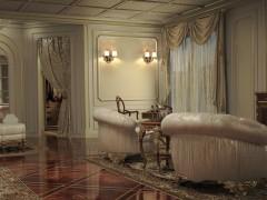 Furniture for villa, bedroom