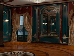 Furniture for villa, panelling