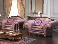 Classic stuffed armchair
