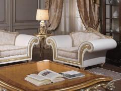 Classic luxury armchair