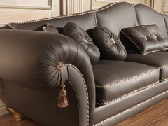 Luxury sofas in leather