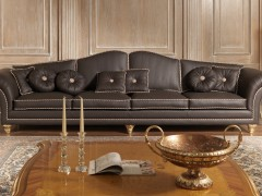 Luxury sofas in leather big