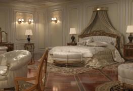 Camera da letto per villa, il letto