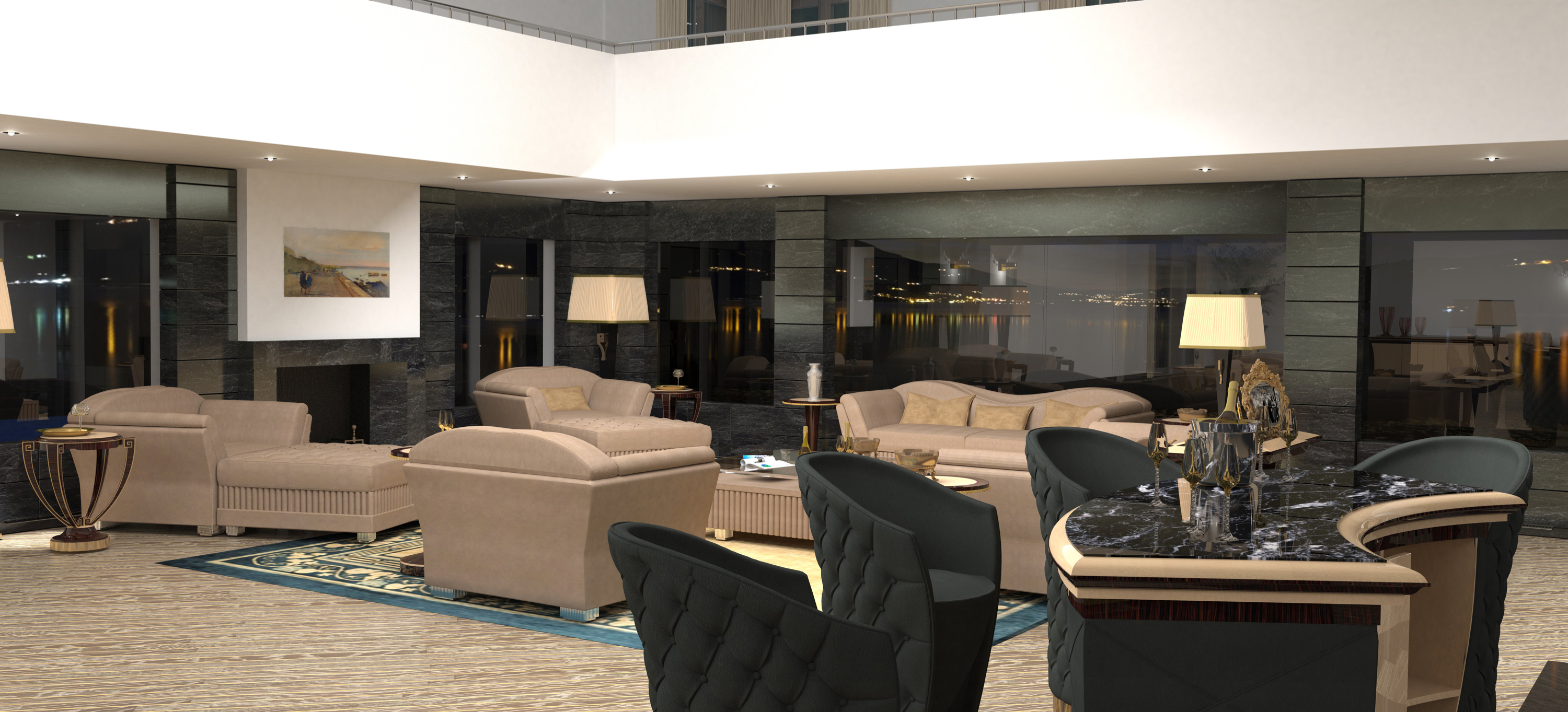 Furniture Art Deco Among Homemade Luxury And Contemporary