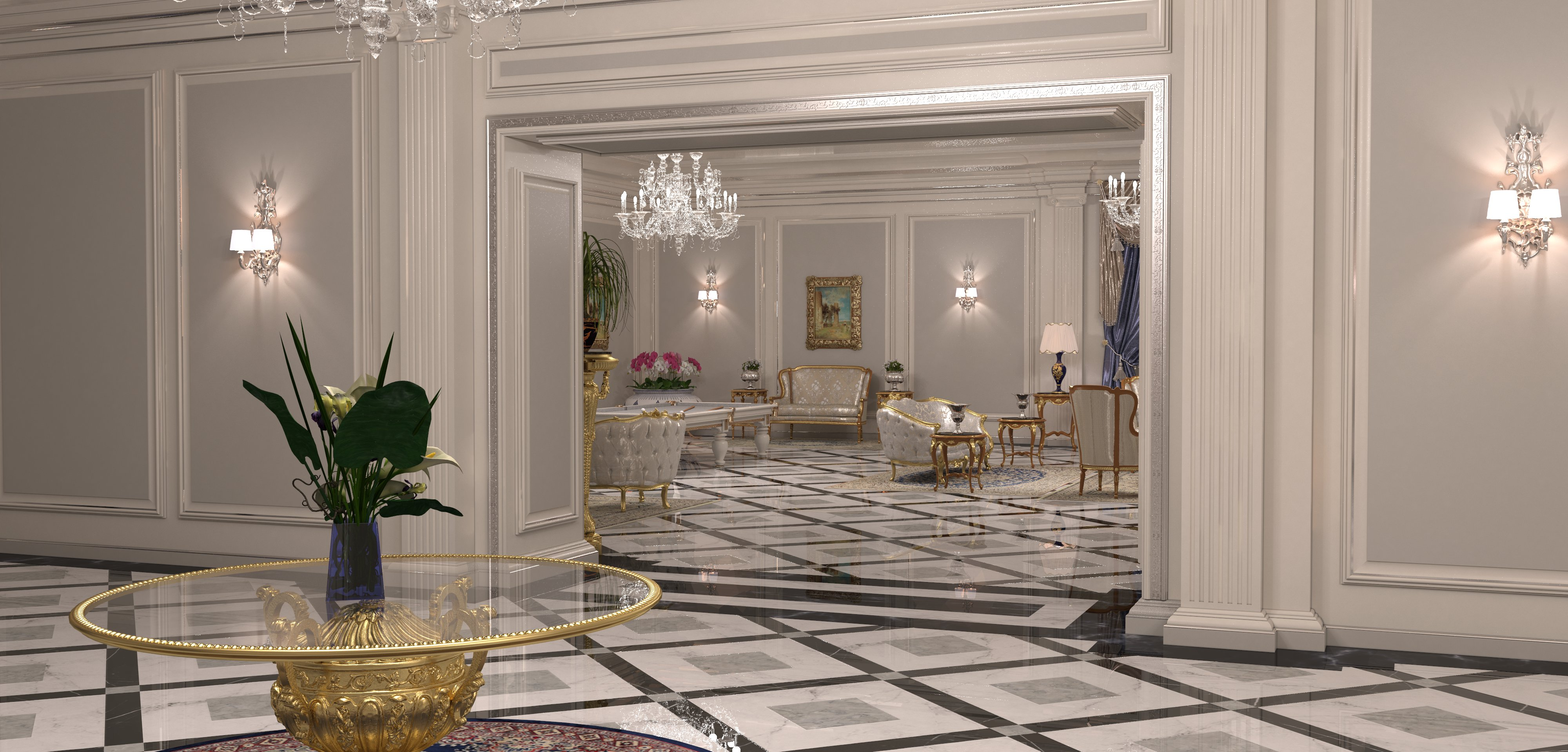 Arredi di lusso casa modelos de casas for Arredamento interni lusso