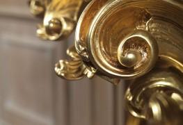 Consolle in stile barocco foglia oro