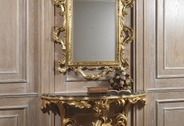 Luxury mirror with console