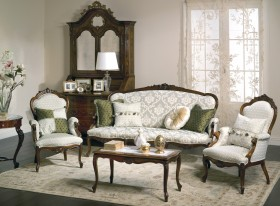 Classy sofas in classic style