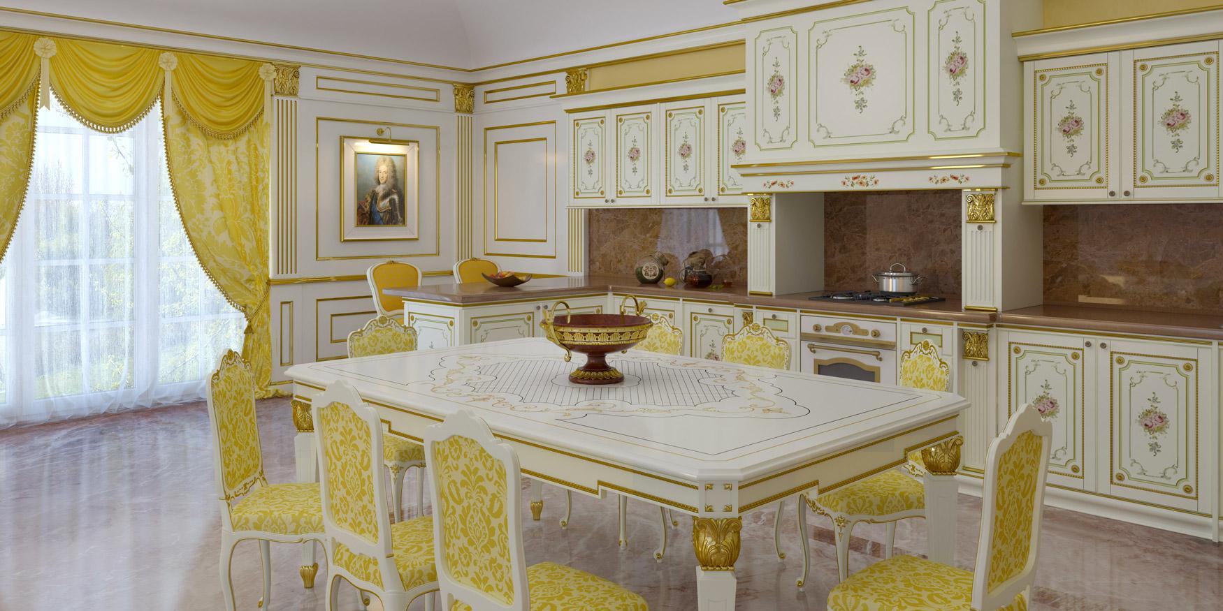 Cucine di lusso su misura: lo stile classico si mette ai fornelli