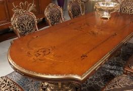 arredamento per sala da pranzo, il tavolo
