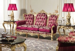 Luxury baroque sofa
